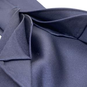 7-fold navy tie