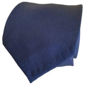 3-fold navy tie